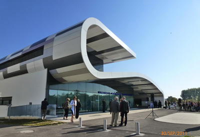Opening of the new maternity ward in Angers, France