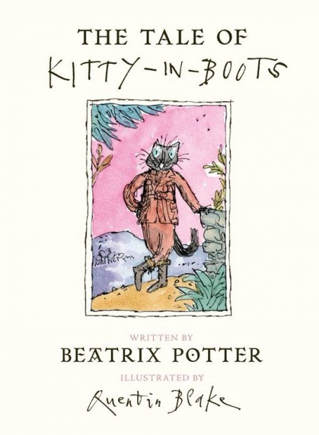 Penguin Books reveal the cover for 'The Tale of Kitty-in-Boots'